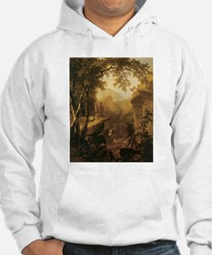 Kindred Spirits by Durand 1800s Hoodie
