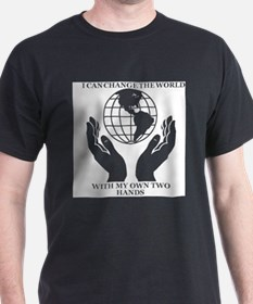 Cute Committed citizens can change the world T-Shirt
