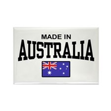 Made In Australia Rectangle Magnet