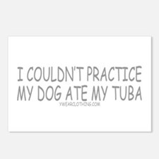 Dog Ate Tuba Postcards (Package of 8)