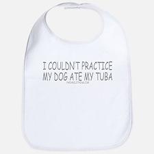Dog Ate Tuba Bib