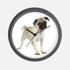 Pug Picture - Wall Clock