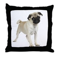 Pug Picture - Throw Pillow