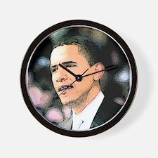 Obama Star Wall Clock