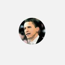 Obama Star Mini Button
