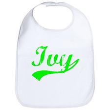 Vintage Ivy (Green) Bib