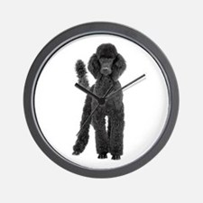 Poodle Picture - Wall Clock