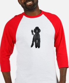 Poodle Picture - Baseball Jersey