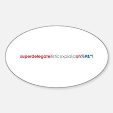 Superdelegate_RedBlue_ Oval Decal