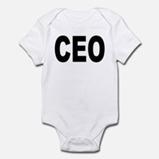 Funny Bosses Infant Bodysuit