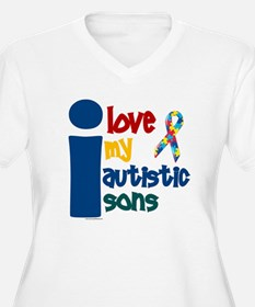 I Love My Autistic Sons 1 T-Shirt