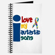 I Love My Autistic Sons 1 Journal