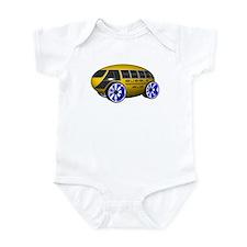 Bubble Bus 2 Infant Bodysuit