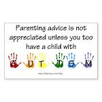 Autism Parenting Rectangle Sticker 10 pk)