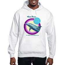Dolphin White Blotch Hoodie