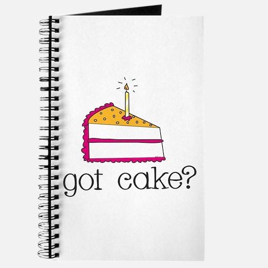 got cake? (pink) Journal