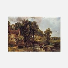 Famous landscape by Constable Rectangle Magnet