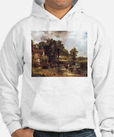 Famous landscape by Constable Hoodie