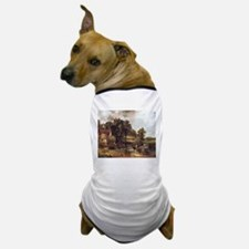 Famous landscape by Constable Dog T-Shirt