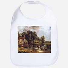 Famous landscape by Constable Bib