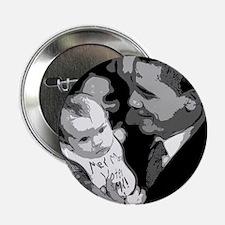 """Me and Mom Vote Obama 2.25"""" Button"""