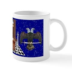 Masonic Ear in the sky Mug