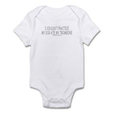 Dog Ate Trombone Infant Bodysuit