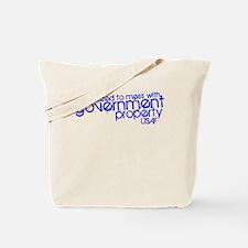 Government Property USAF Tote Bag