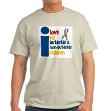 I Love My Autistic & NonAutistic Children 1 T-Shirt