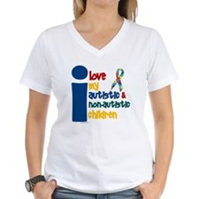 I Love My Autistic & NonAutistic Children 1 Women'