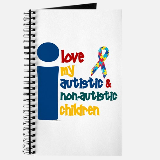 I Love My Autistic & NonAutistic Children 1 Journa