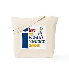 I Love My Autistic & NonAutistic Children 1 Tote B