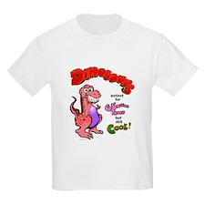 Cool Dinosaurs T-Shirt (Pink)