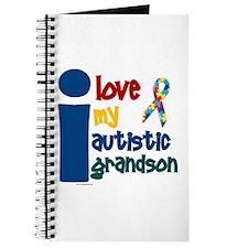 I Love My Autistic Grandson 1 Journal