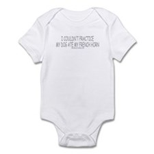 Dog Ate French horn Infant Bodysuit