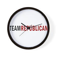 TeamRepublican Wall Clock