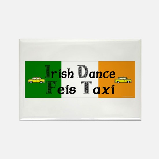 Feis Taxi - Rectangle Magnet