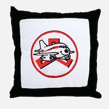 Janet Fleet Throw Pillow