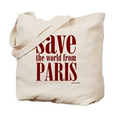 Save Paris Tote Bag