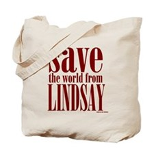 Save Lindsay Tote Bag