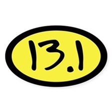 13.1 Oval Sticker (50 pk)