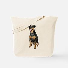 Miniature Pinscher Picture - Tote Bag
