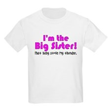 I'm the Big Sister Kids Light T-Shirt