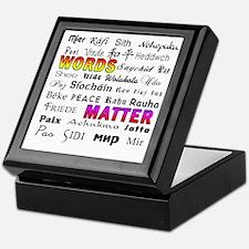 PEACE in 29 Languages Keepsake Box