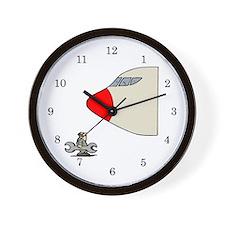 Jet Engine Mechanic Wall Clock