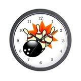 Bowling wall clock Wall Clocks