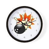 Bowling wall clock Wall Clocks