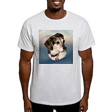 Sugar the Beagle Ash Grey T-Shirt