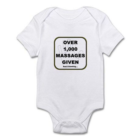Massage Clients Served Infant Bodysuit
