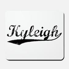Vintage Kyleigh (Black) Mousepad
